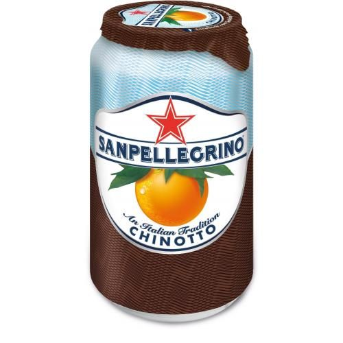 "Напиток ""S.Pellegrino"" (Сан.Пеллегрино) Chinotto Померанец 0.33л, газ, ж/б (6шт)"
